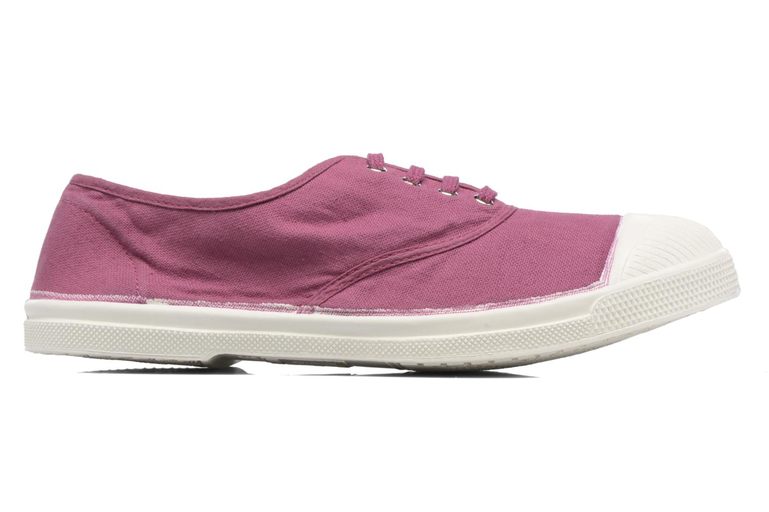 Trainers Bensimon Tennis Lacets Purple back view