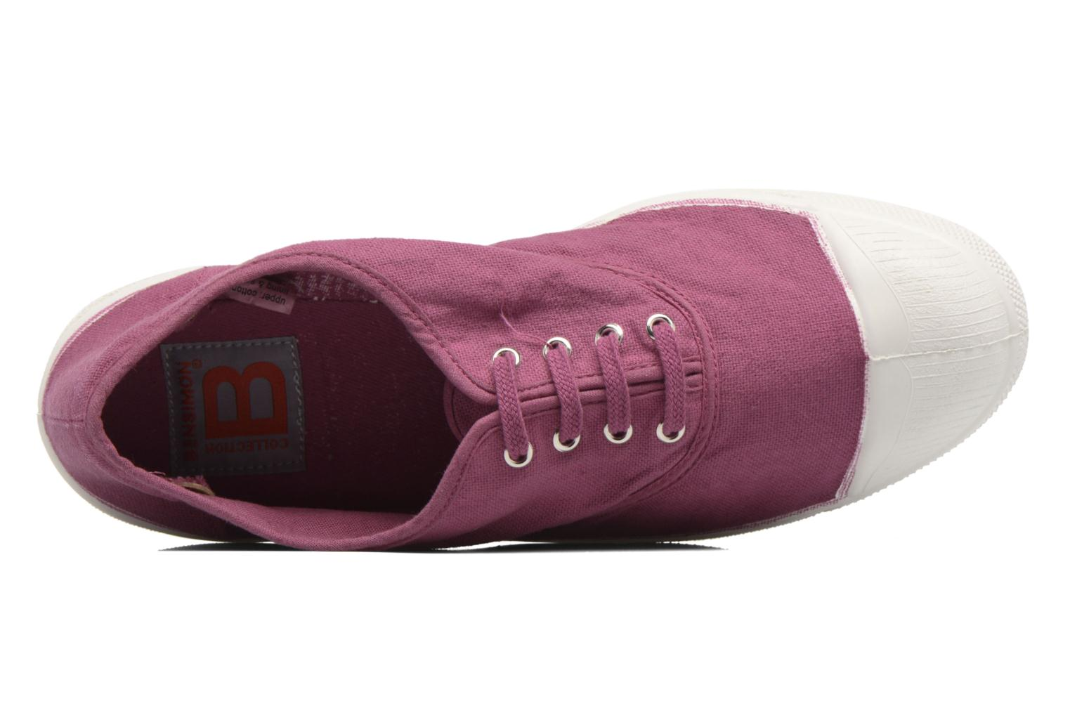 Sneakers Bensimon Tennis Lacets Viola immagine sinistra