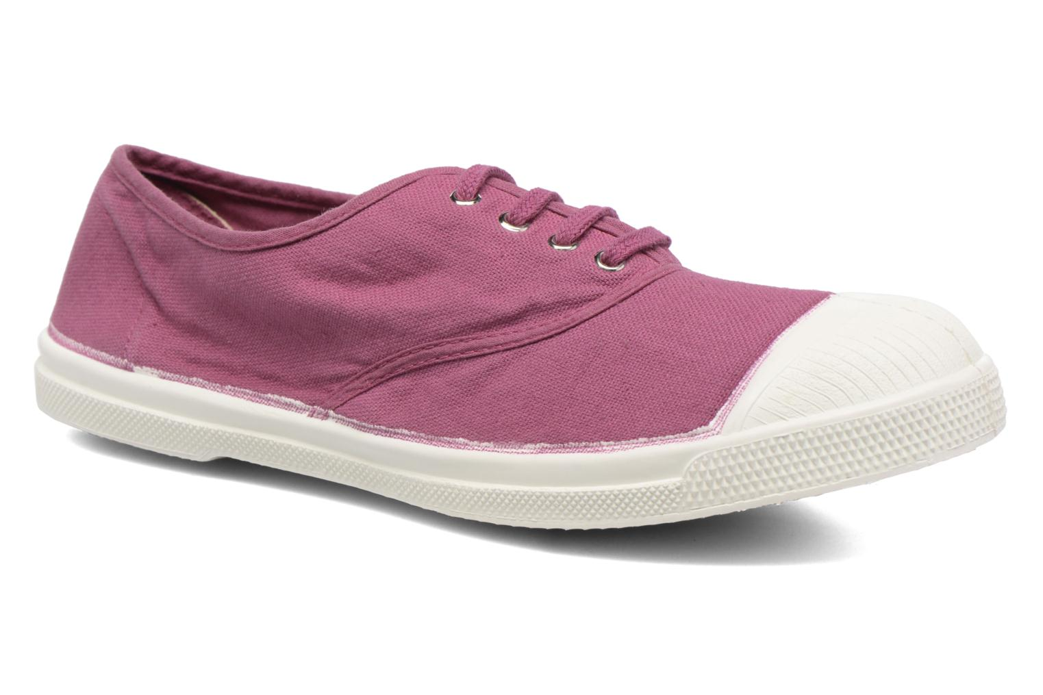 Sneakers Bensimon Tennis Lacets Paars detail