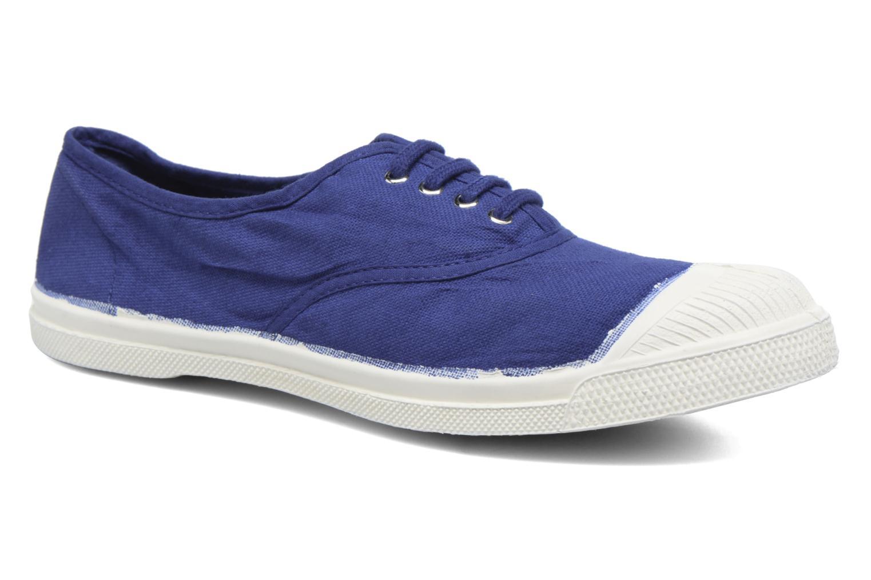 Tennis Lacets Bleu Vif 2