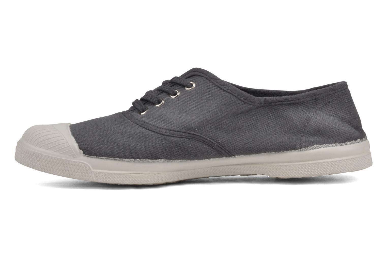 Sneaker Bensimon Tennis Lacets grau ansicht von vorne