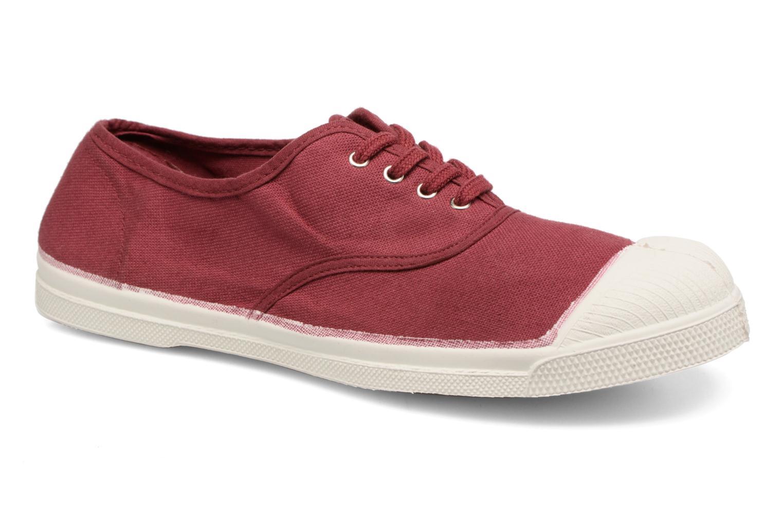 Sneakers Bensimon Tennis Lacets Bordeaux detaljeret billede af skoene