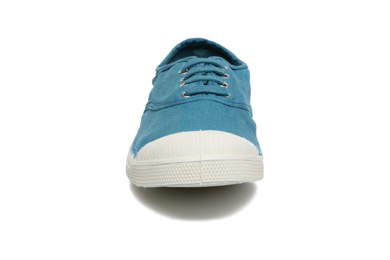 Trainers Bensimon Tennis Lacets Blue model view