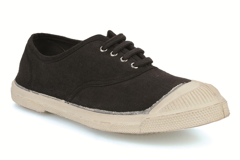 Sneakers Bensimon Tennis Lacets Zwart detail