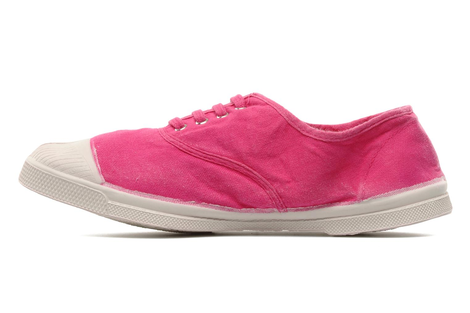 Tennis Lacets Rose Vif