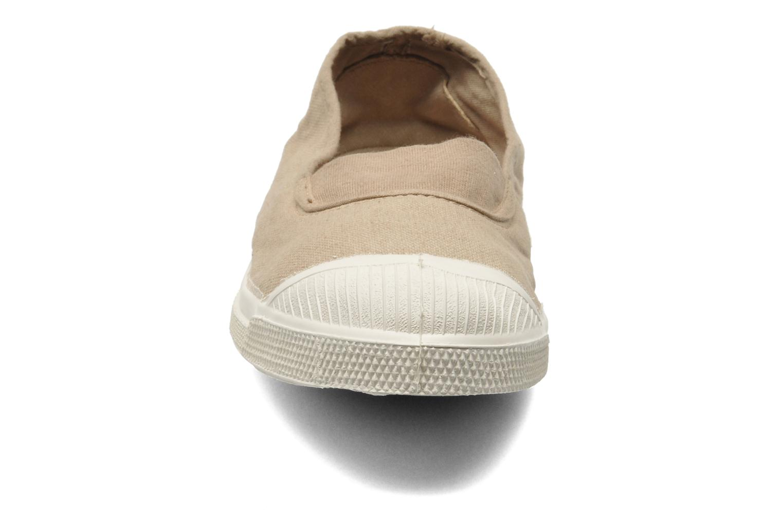 Ballerines Bensimon Tennis Elastique Beige vue portées chaussures