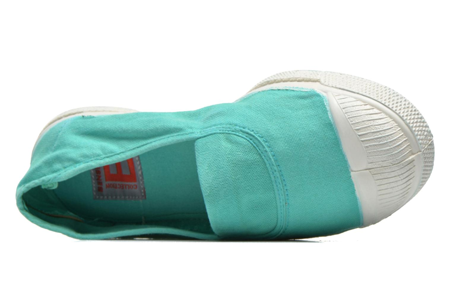 Ballerina's Bensimon Tennis Elastique Groen links