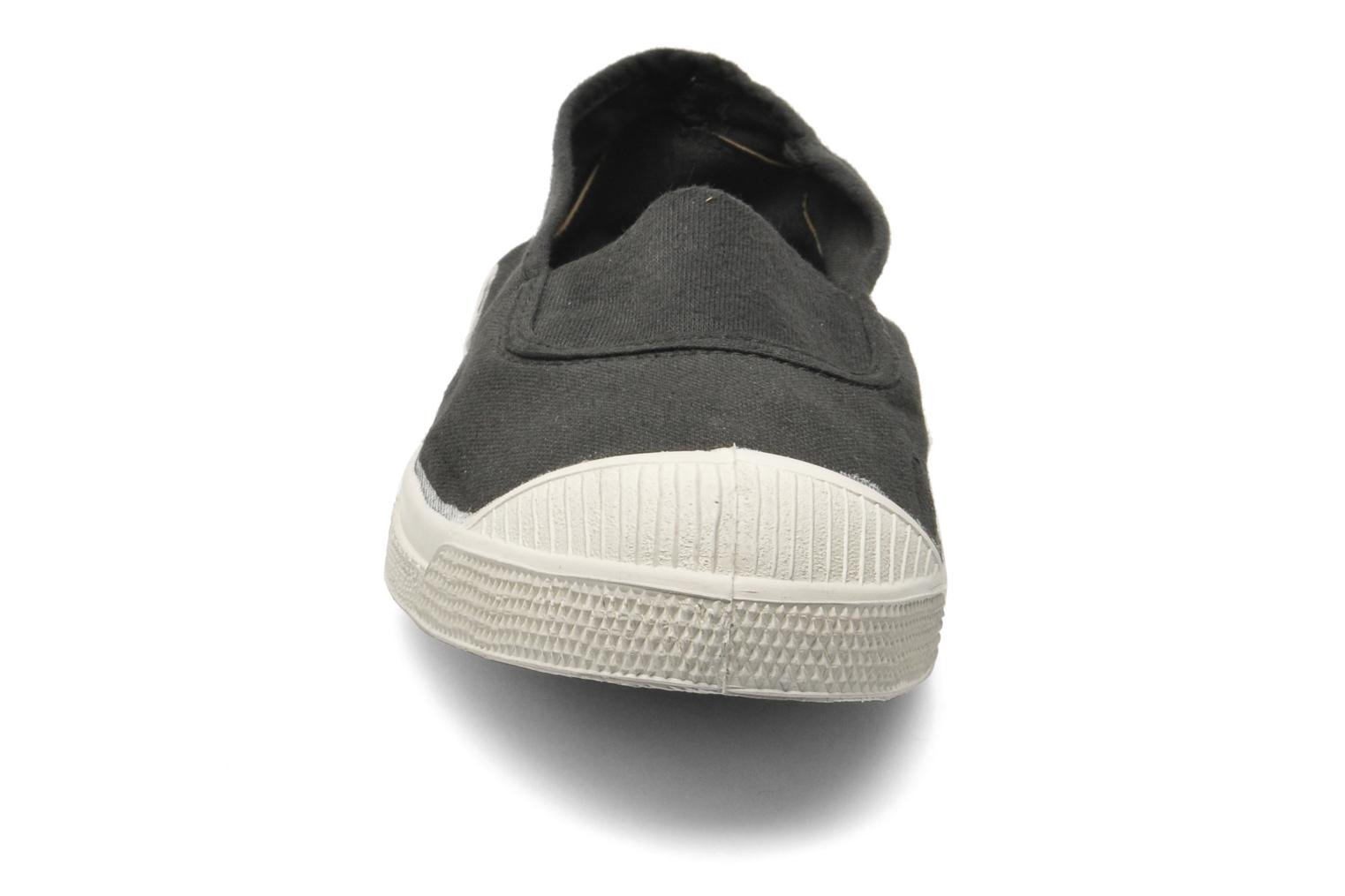 Ballet pumps Bensimon Tennis Elastique Black model view