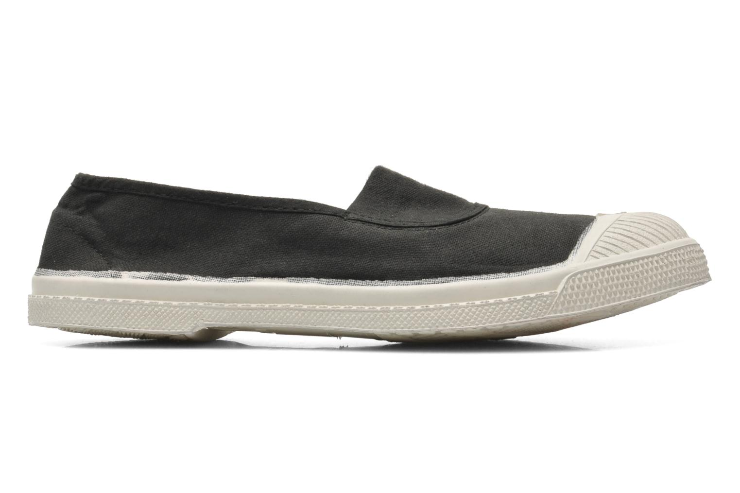 Ballet pumps Bensimon Tennis Elastique Black back view