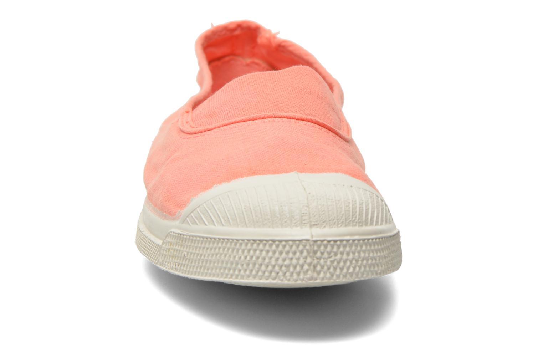 Ballerines Bensimon Tennis Elastique Orange vue portées chaussures