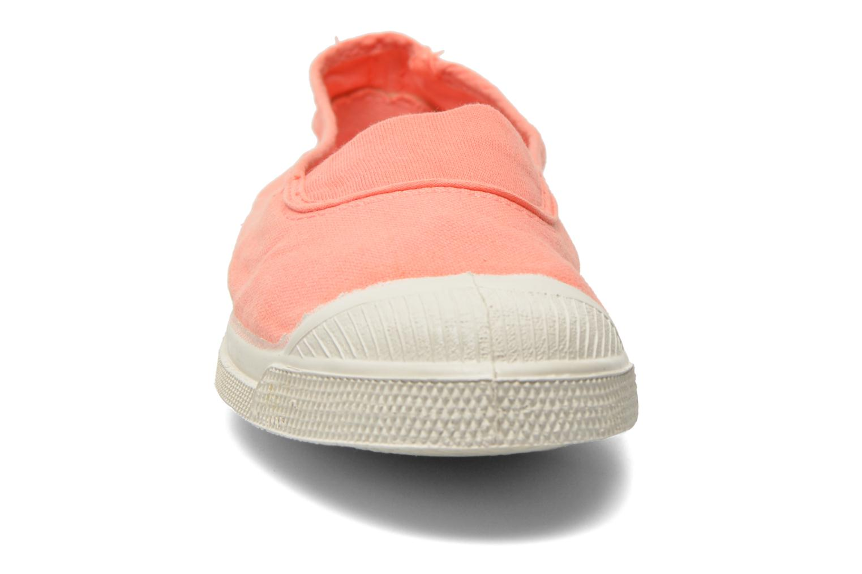 Ballerinas Bensimon Tennis Elastique orange schuhe getragen