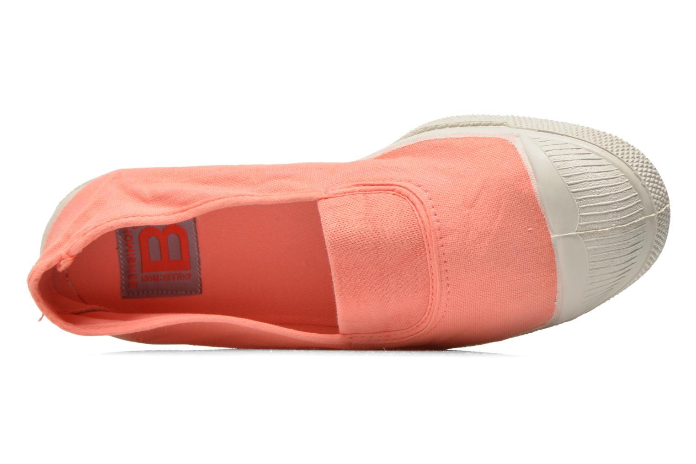 Ballerinas Bensimon Tennis Elastique orange ansicht von links