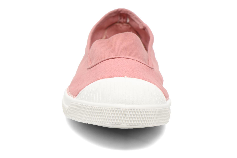 Ballerinas Bensimon Tennis Elastique rosa schuhe getragen