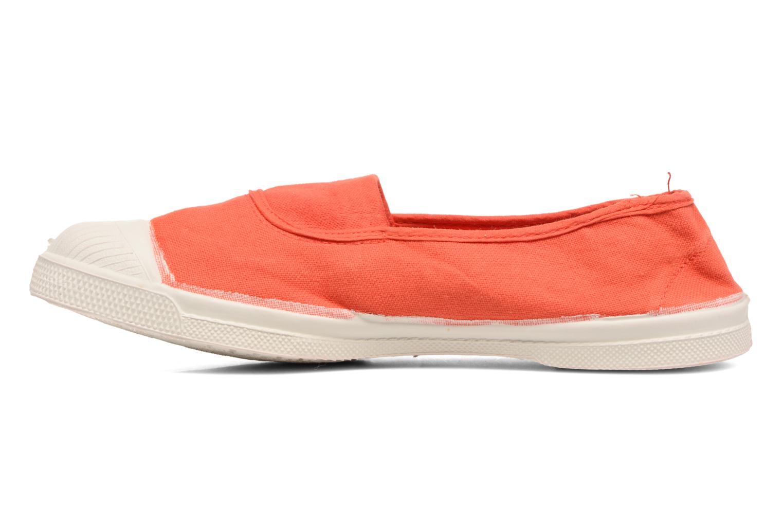 Ballerinas Bensimon Tennis Elastique orange ansicht von vorne
