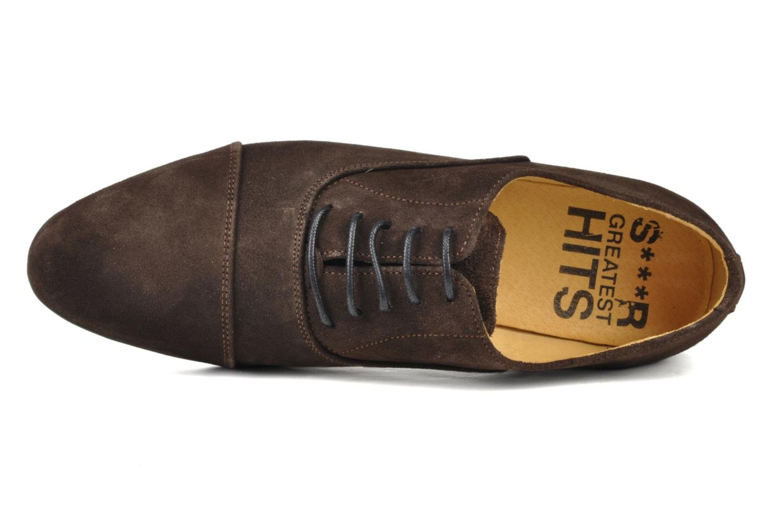 Lace-up shoes Swear Jimmy 1 Brown view from the left