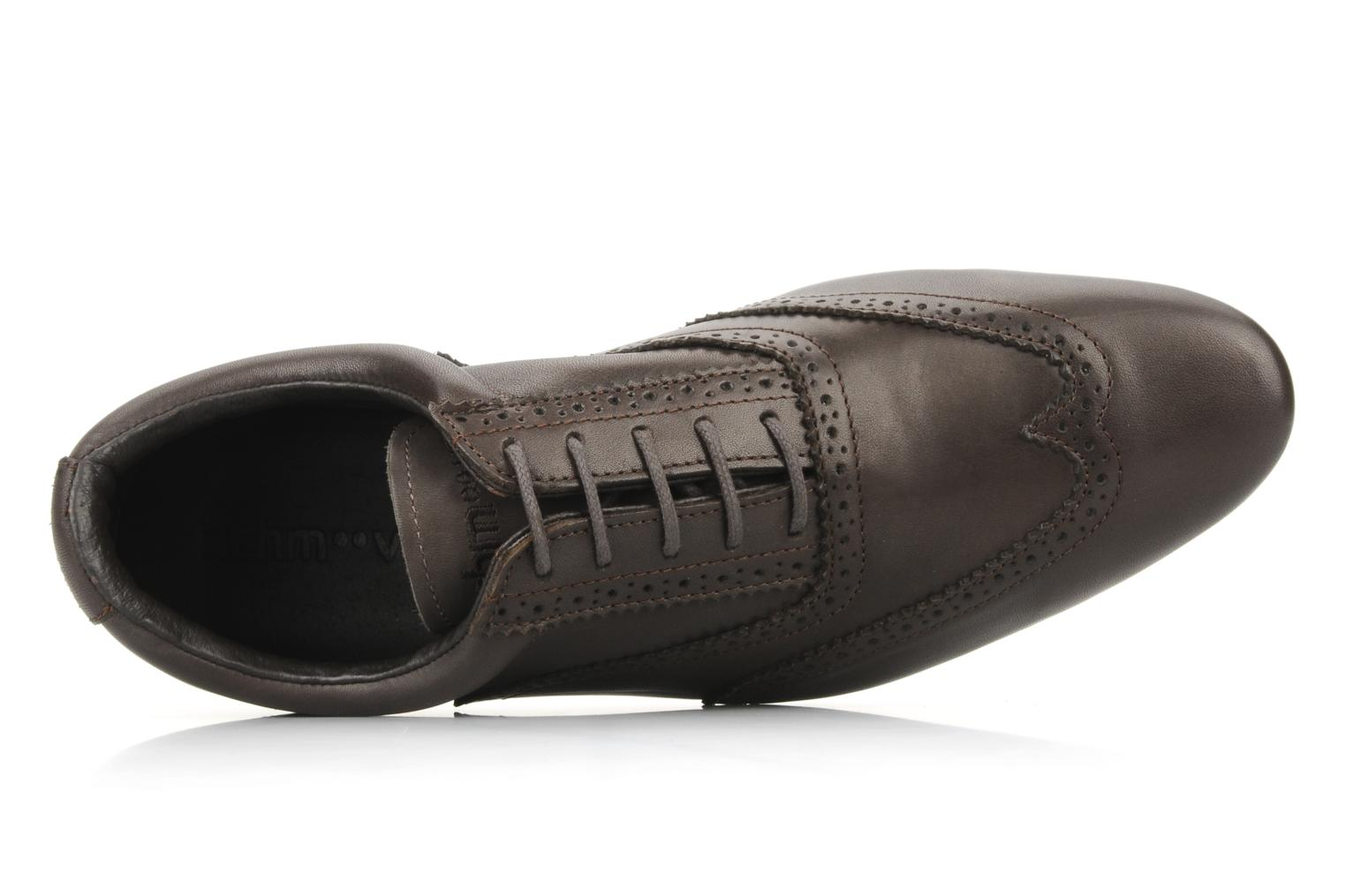 Lace-up shoes Schmoove Jamaica Corso Easy Brown view from the left
