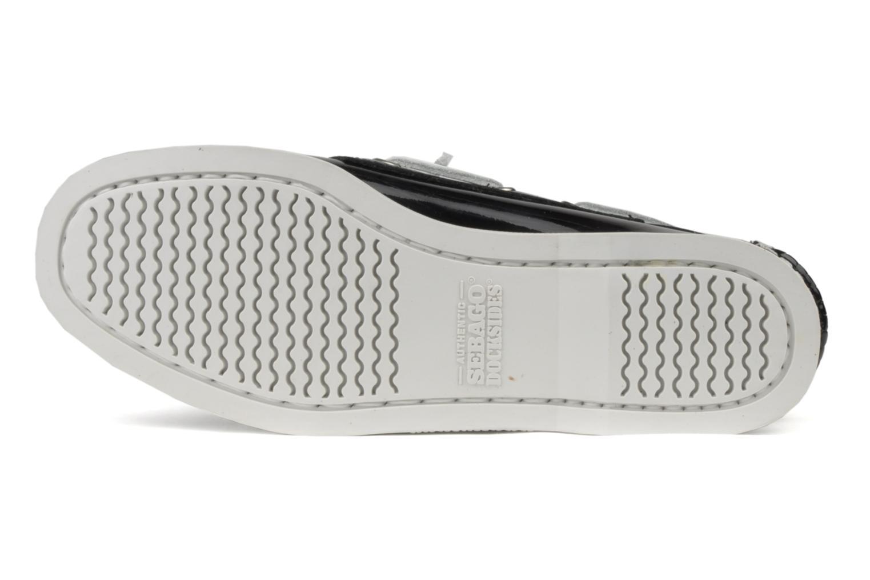 Chaussures à lacets Sebago Docksides W Noir vue haut
