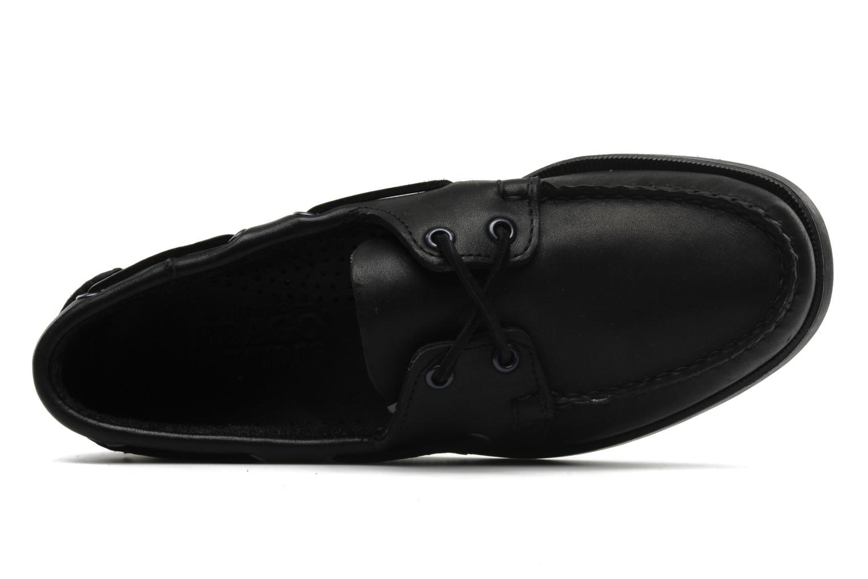 Chaussures à lacets Sebago Docksides M Noir vue gauche