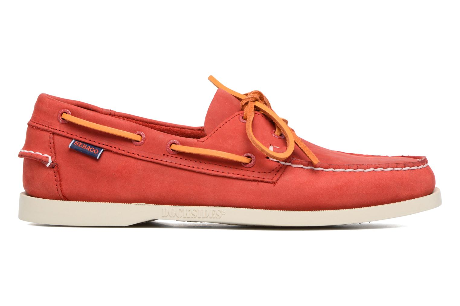 Docksides M Red nubuck