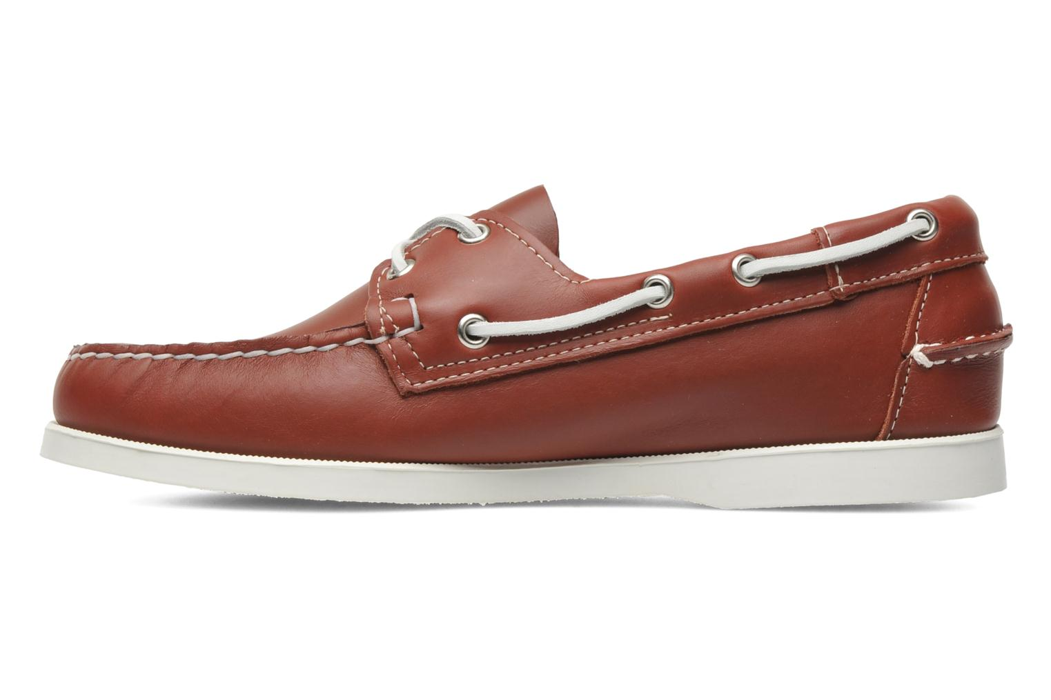 Lace-up shoes Sebago Docksides M Red back view