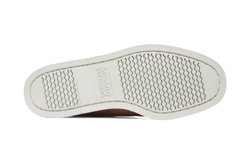 Zapatos con cordones Sebago Docksides M Rojo vista de arriba