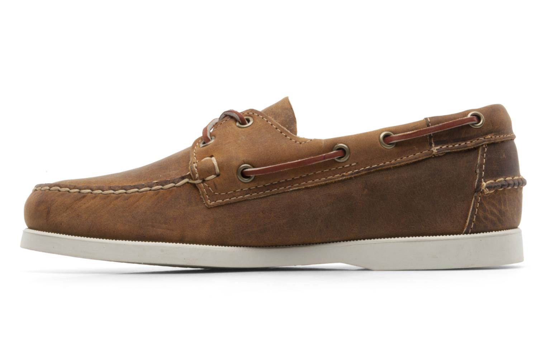 Chaussures à lacets Sebago Docksides M Marron vue face