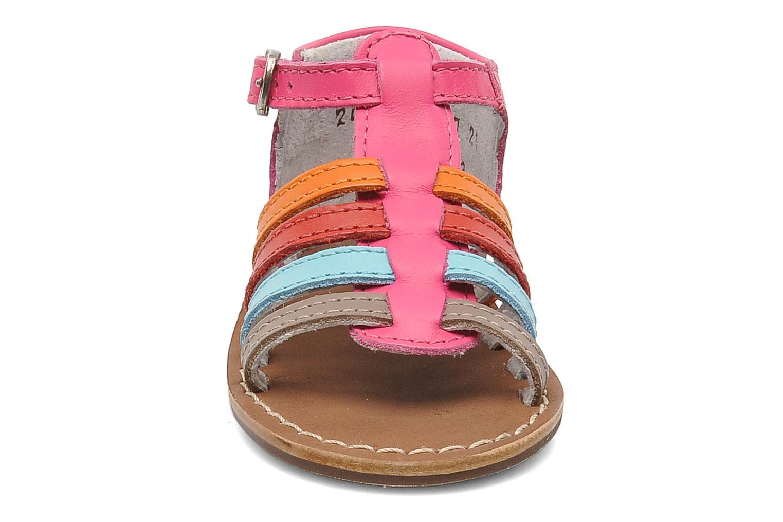 Sandalen Aster Vision rosa schuhe getragen