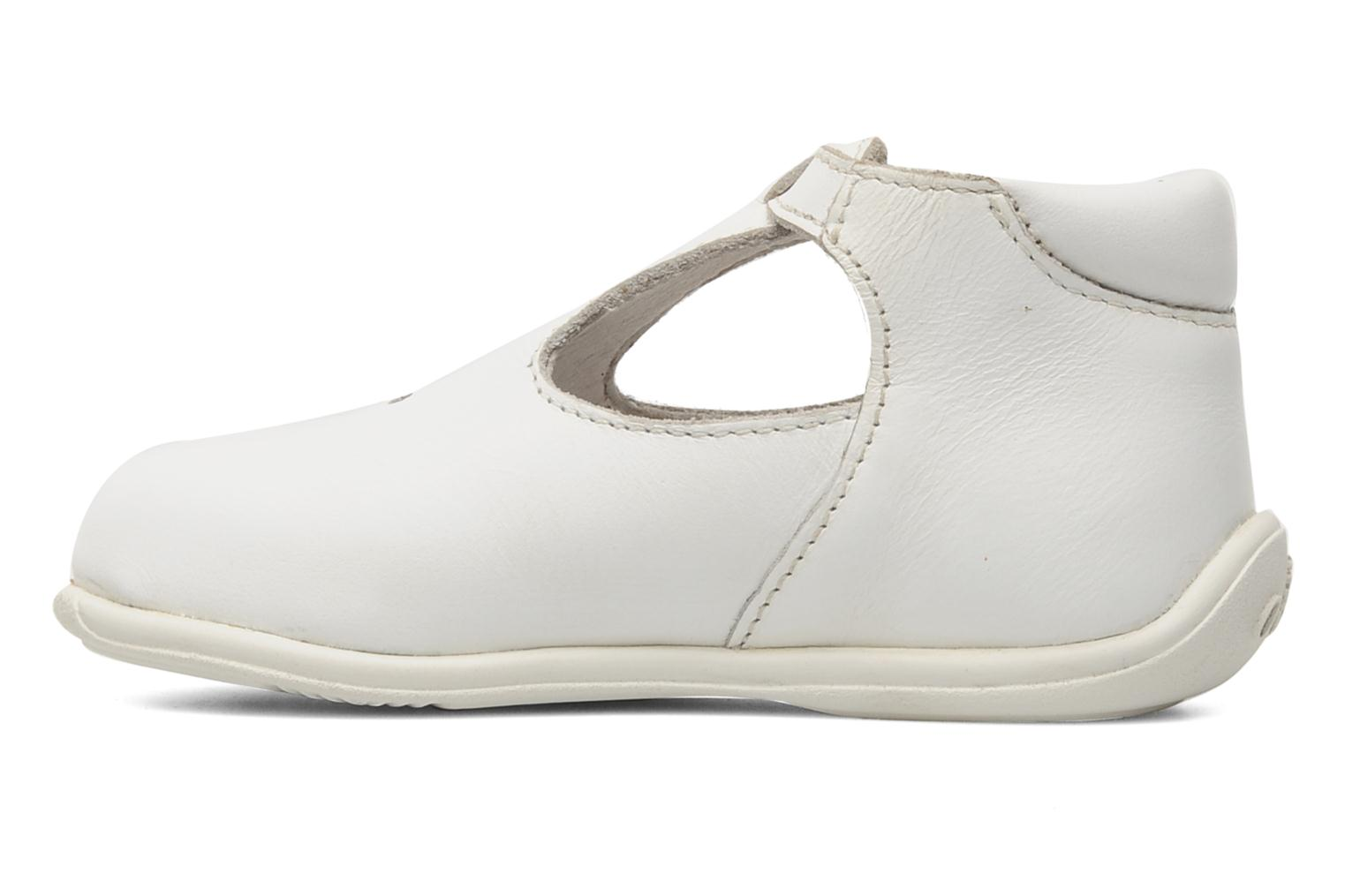 Bottines d'été Aster Odjumbo Blanc vue face