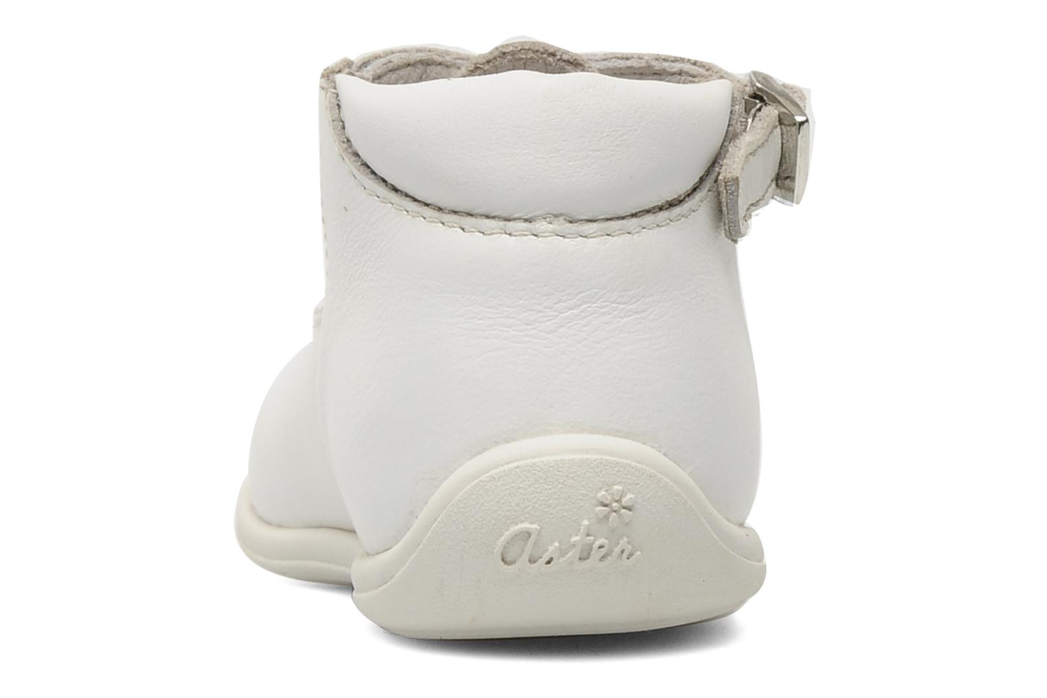 Summer boots Aster Odjumbo White view from the right
