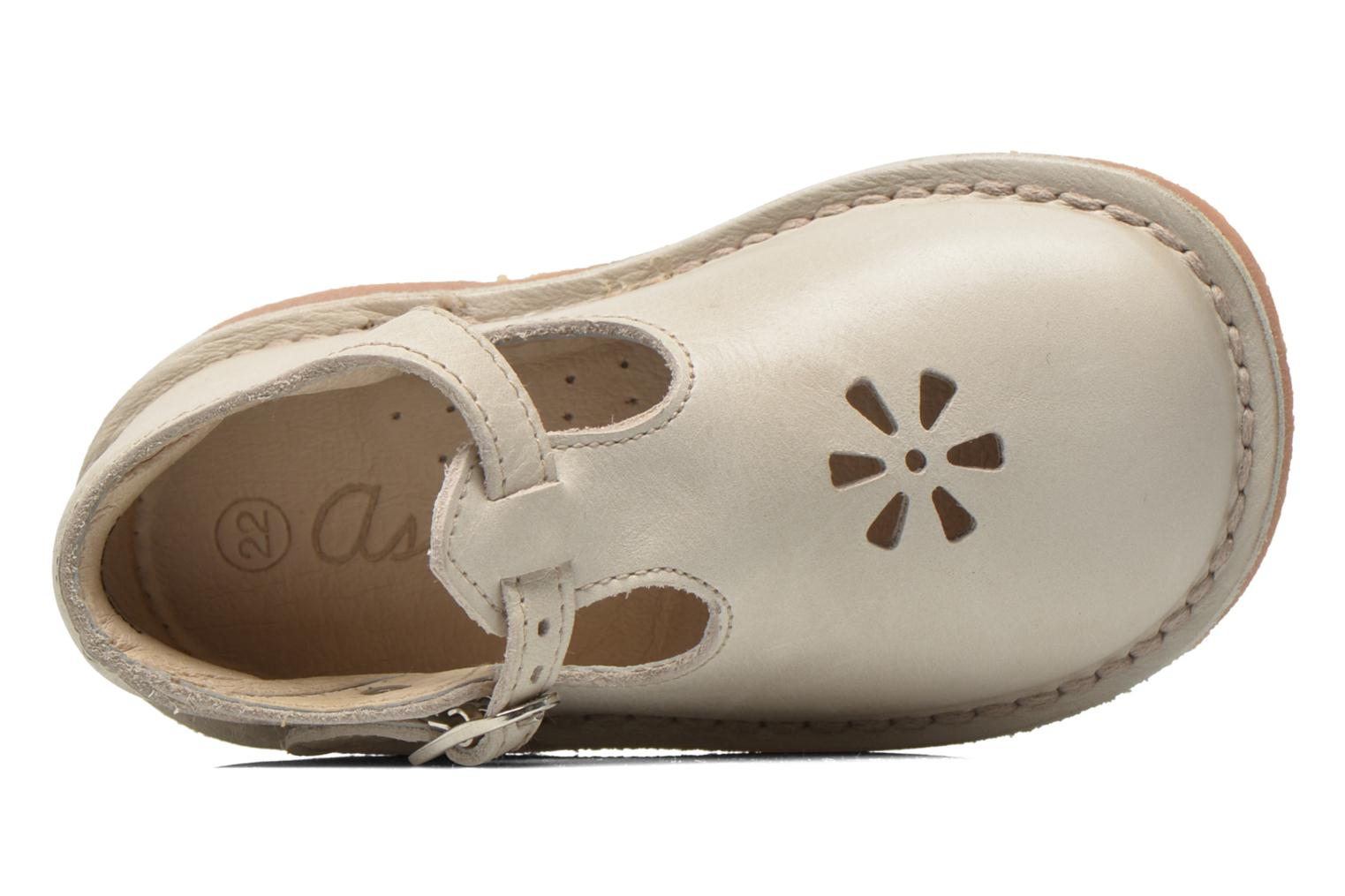 Summer boots Aster Bimbo Beige view from the left