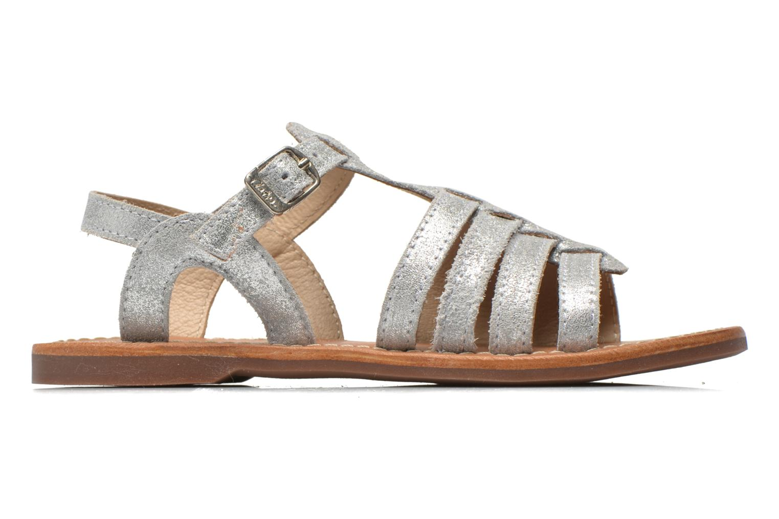 Sandals Aster Vibride Silver back view