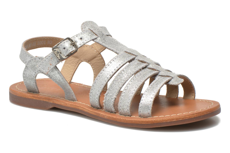 Sandales et nu-pieds Aster Vibride Argent vue détail/paire