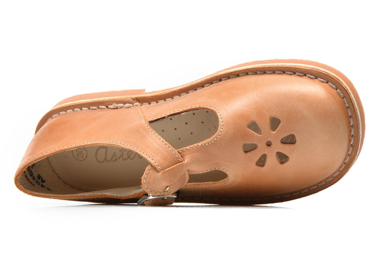Ballerinas Aster Dingo beige ansicht von links