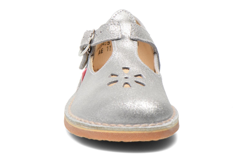 Ballerinas Aster Dingo silber schuhe getragen