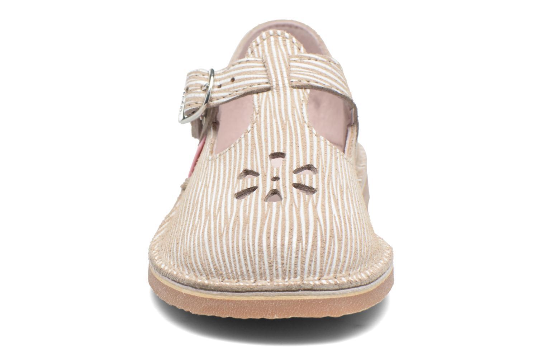 Ballerines Aster Dingo Blanc vue portées chaussures