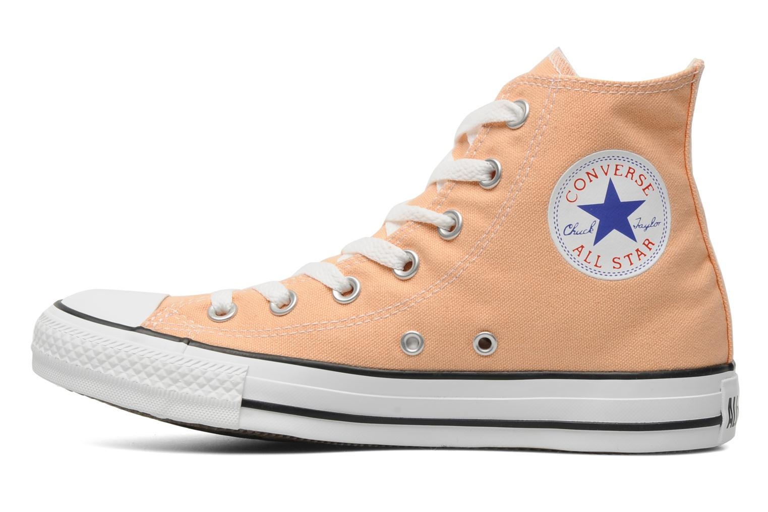 Trainers Converse Chuck Taylor All Star Seasonal Hi Orange front view