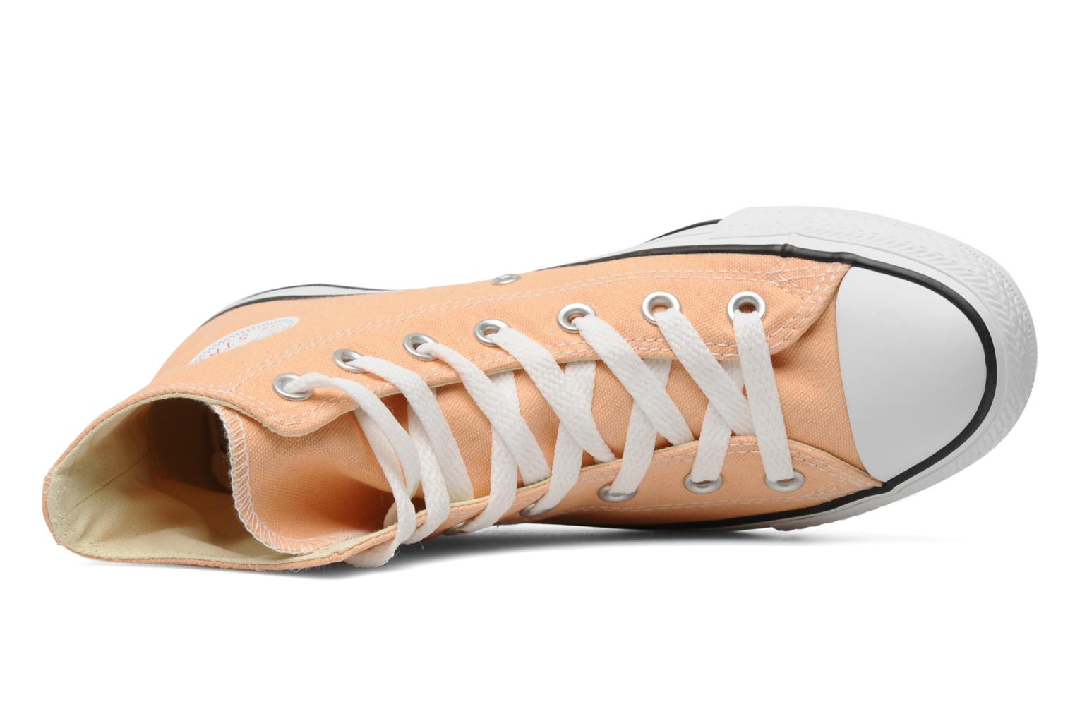 Trainers Converse Chuck Taylor All Star Seasonal Hi Orange view from the left