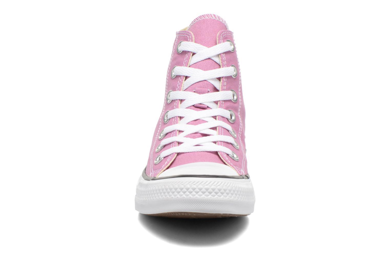 Sneaker Converse Chuck Taylor All Star Hi W lila schuhe getragen