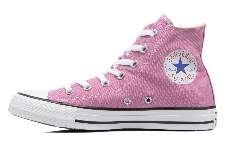 Sneaker Converse Chuck Taylor All Star Hi W lila ansicht von vorne