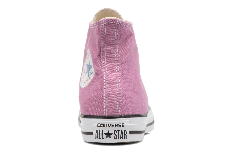Sneaker Converse Chuck Taylor All Star Hi W lila ansicht von rechts