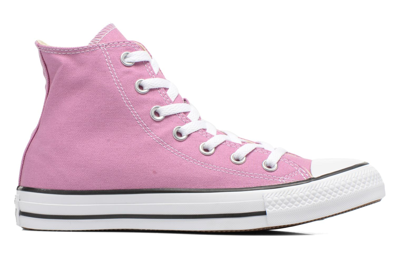 Sneaker Converse Chuck Taylor All Star Hi W lila ansicht von hinten