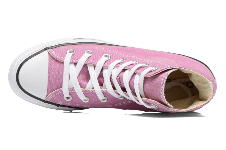 Sneaker Converse Chuck Taylor All Star Hi W lila ansicht von links