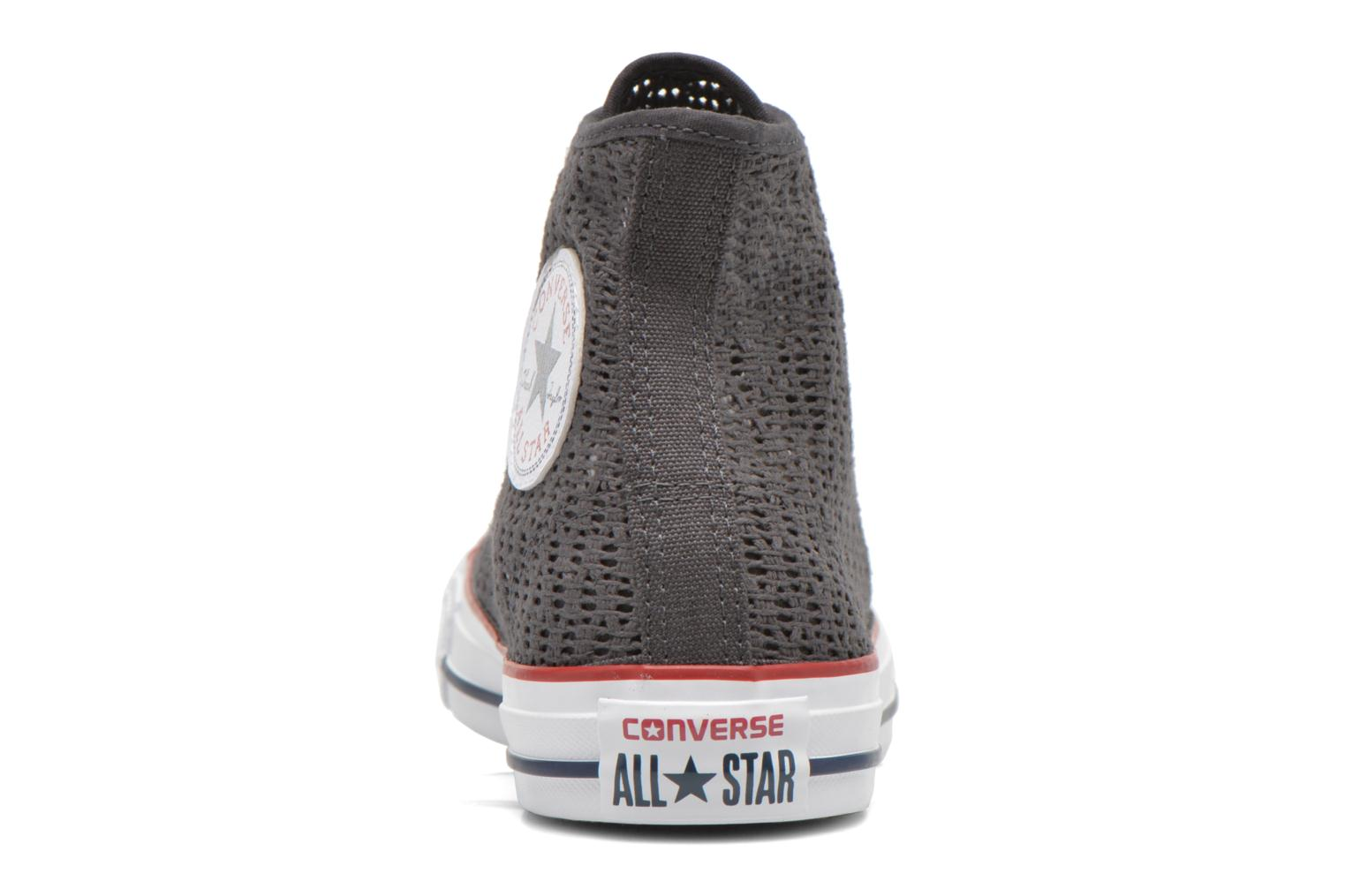 Chuck Taylor All Star Hi W Almost black-Almost black-White