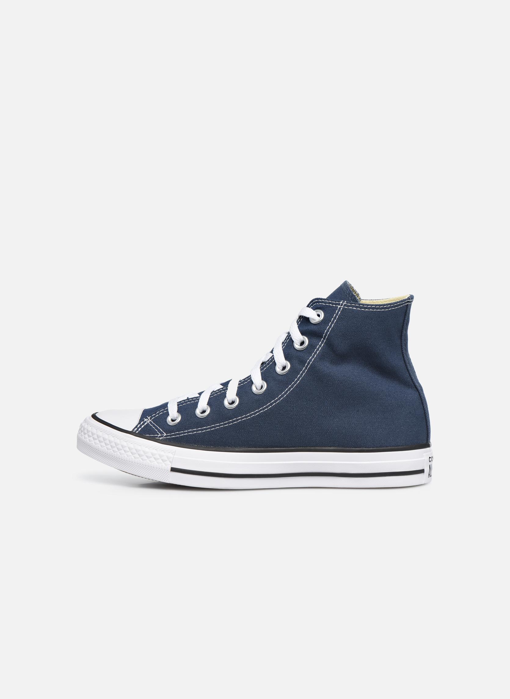 Sneakers Converse Chuck Taylor All Star Hi W Blauw voorkant