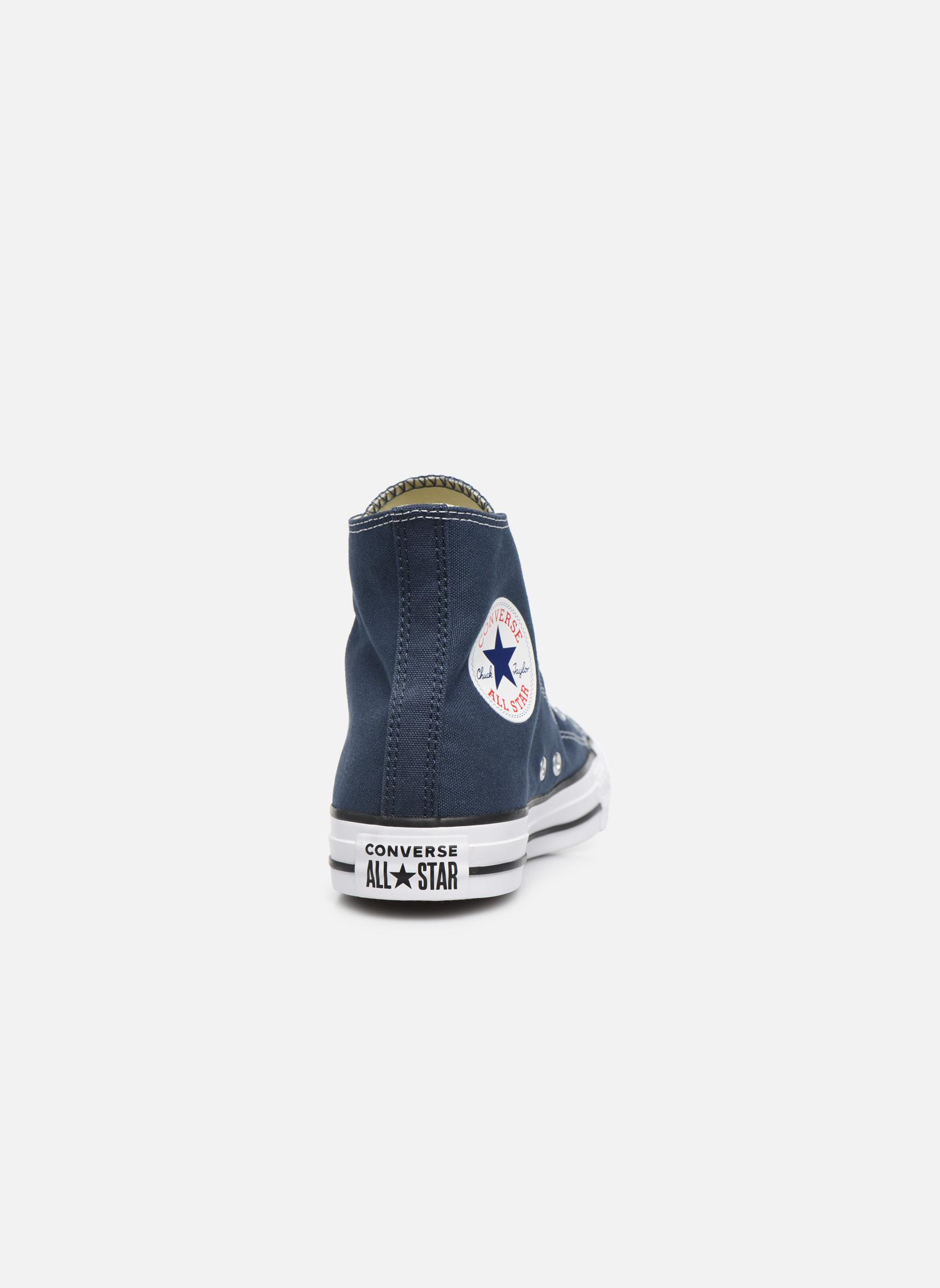 Sneakers Converse Chuck Taylor All Star Hi W Blå Bild från höger sidan