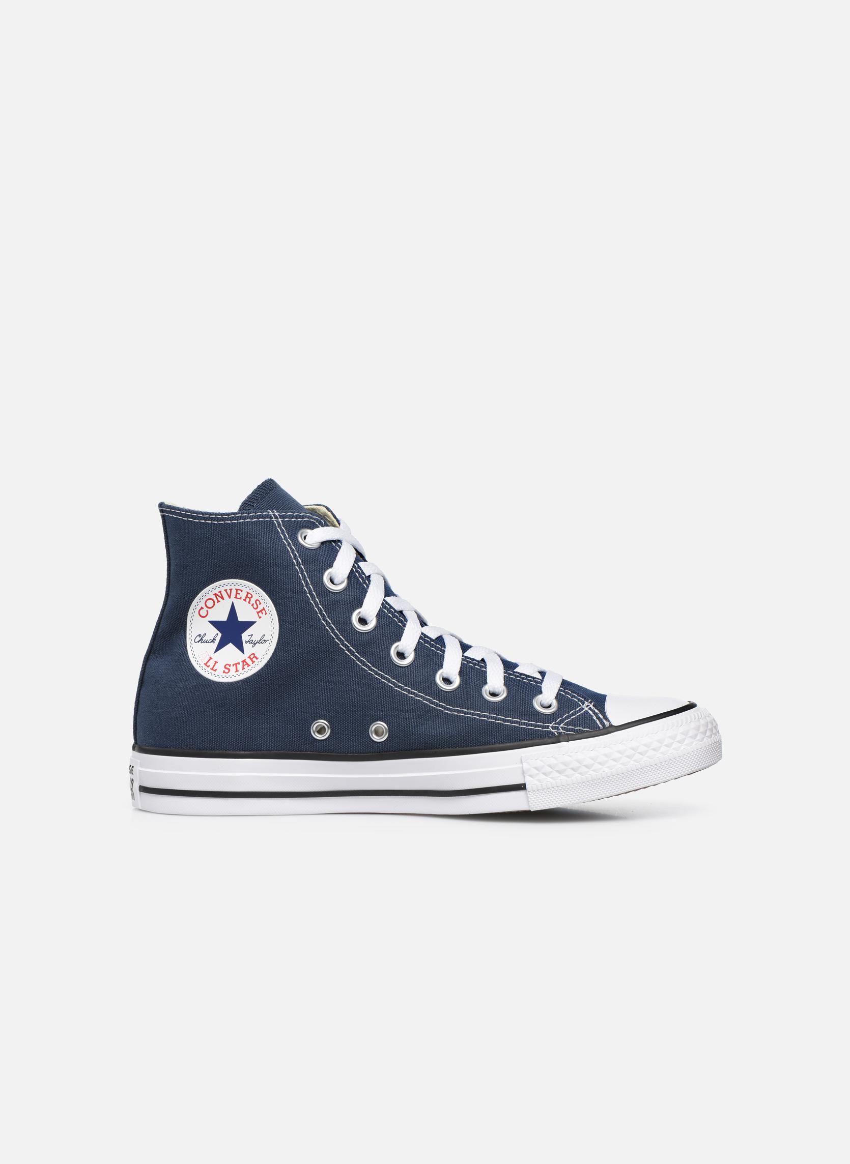 Sneakers Converse Chuck Taylor All Star Hi W Blå bild från baksidan