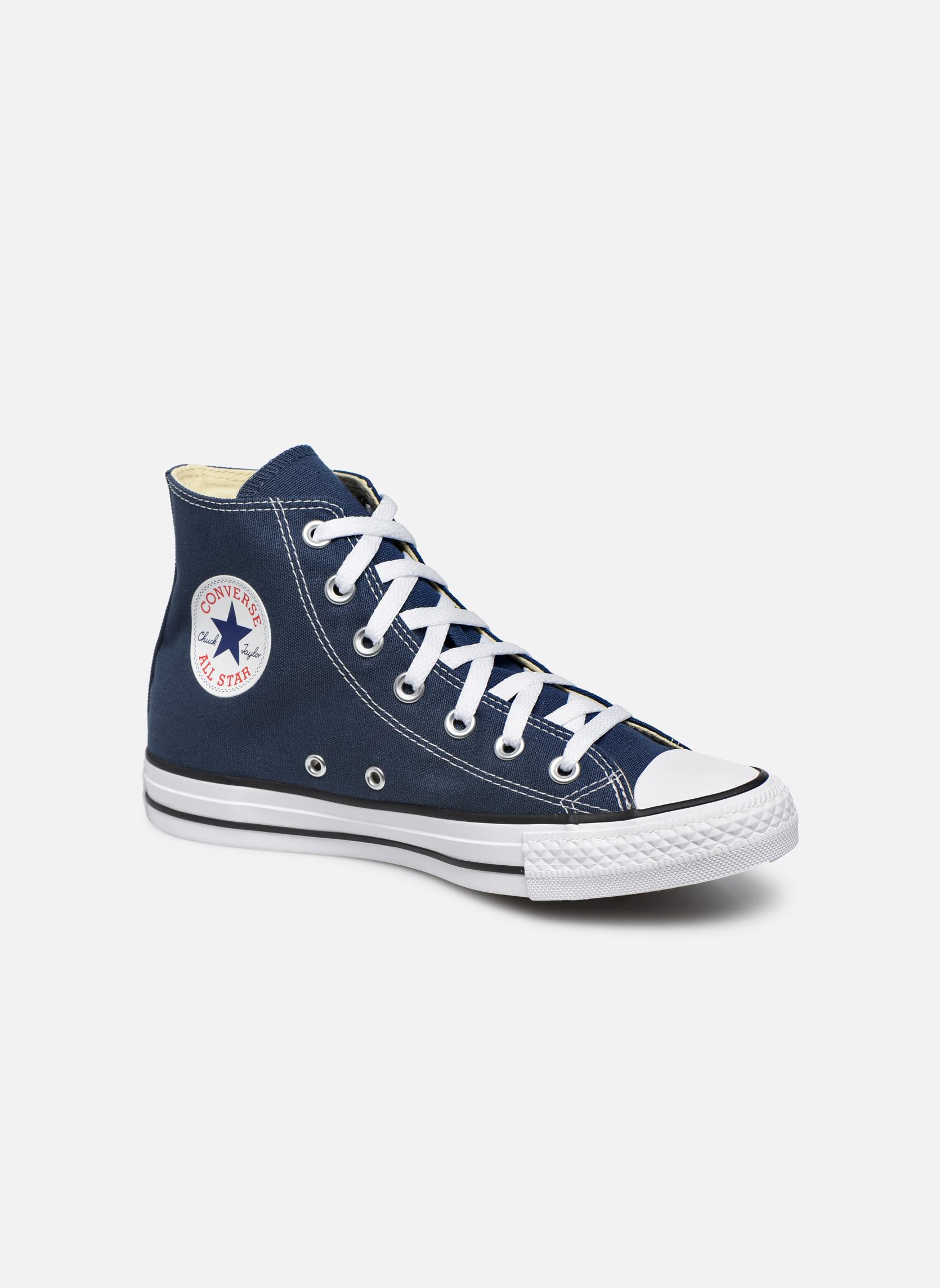 Baskets Converse Chuck Taylor All Star Hi W Bleu vue détail/paire