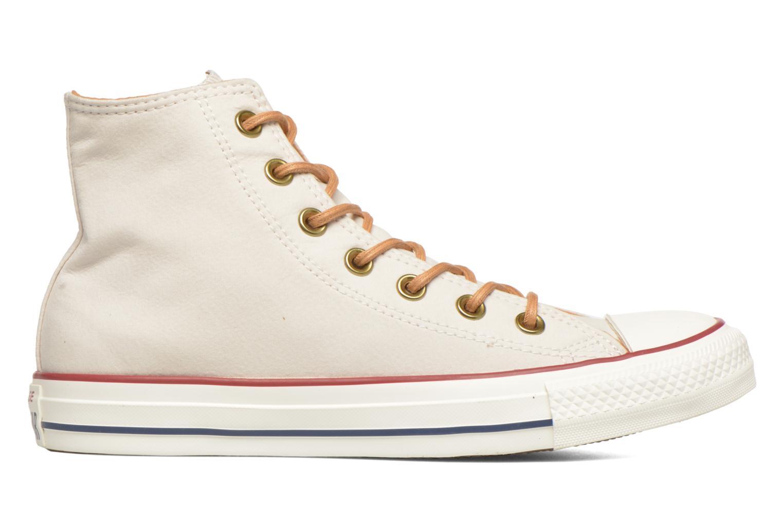 Sneaker Converse Chuck Taylor All Star Hi W beige ansicht von hinten