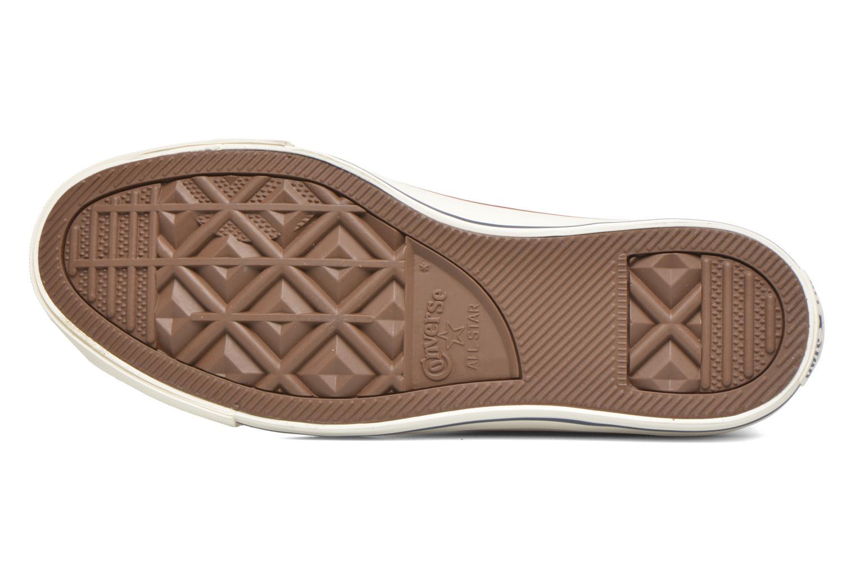 Sneaker Converse Chuck Taylor All Star Hi W beige ansicht von oben