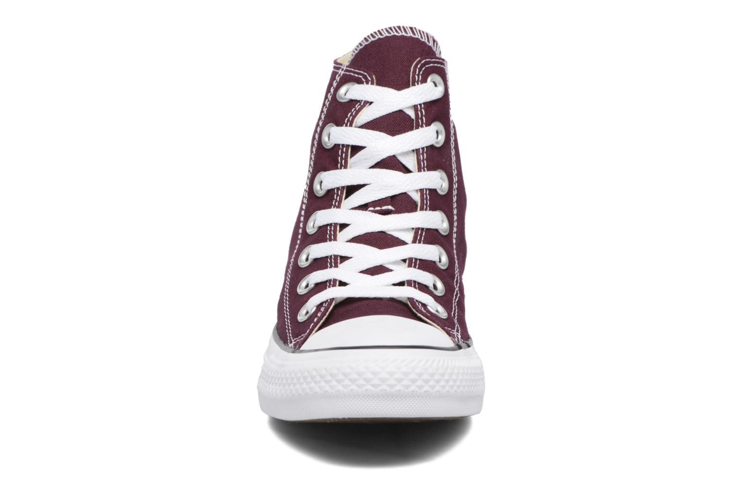 Sneakers Converse Chuck Taylor All Star Hi W Bordeaux se skoene på